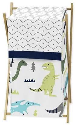 JoJo Designs Sweet Mod Dinosaur Laundry Hamper