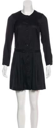 Isabel Marant Silk Long Sleeve Shirtdress