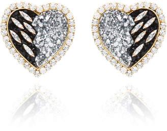 Shourouk Broken Heart Earrings