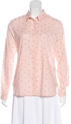 Scotch & Soda Printed Button-Up Top w/ Tags