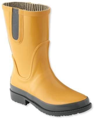 L.L. Bean Women's L.L.Bean Wellies Rain Boots, Mid