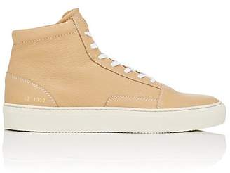 Common Projects Men's Skate Grained Leather Sneakers