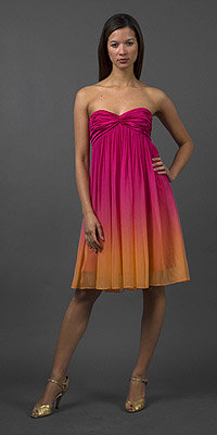 Ombre Silk Dresses by Laundry by Design