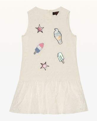 Juicy Couture Ice Cream Patches Lace Dress for Girls