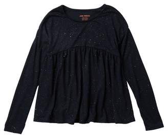 Joe Fresh Sparkle Long Sleeve Top (Big Girls)