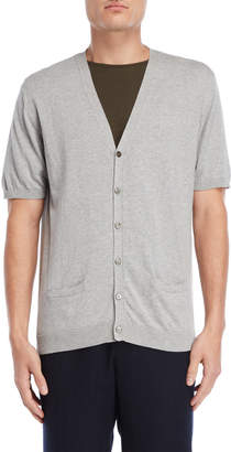 Roberto Collina Short Sleeve Cardigan