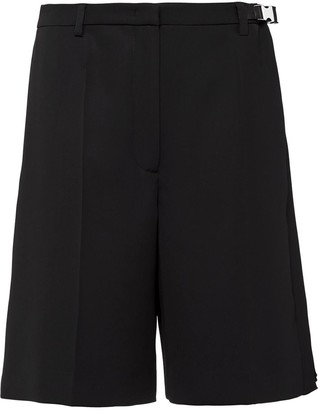Prada wide-leg shorts