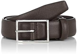 Barneys New York Men's Caviar Leather Belt