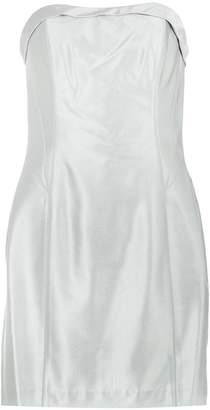 Tufi Duek metallic bandeau dress