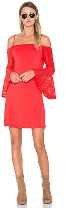 Ella Moss Annalia Dress in Red $198 thestylecure.com