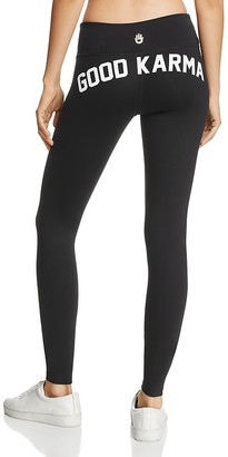 Spiritual Gangster Good Karma Graphic Leggings $88 thestylecure.com