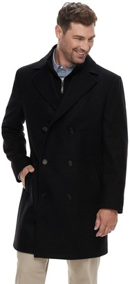 Chaps Men's Classic-Fit Wool-Blend Double-Breasted Coat
