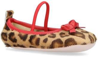 Pretty Ballerinas Leopard Mary Jane Shoes