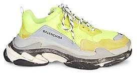 Balenciaga Men's Triple S Runner Sneakers