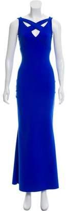 Chiara Boni Sleeveless Evening Gown