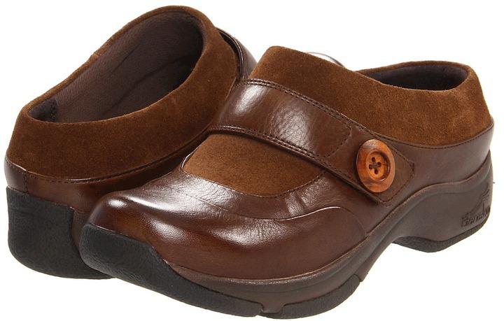 Dansko Kaya (Chocolate Milled Leather) - Footwear