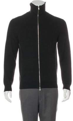 Theory Wool Zip-Up Sweater