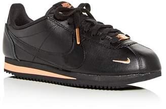 Nike Women's Classic Cortez Premium Low-Top Sneakers