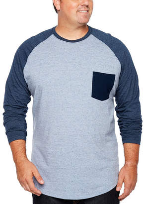 Co THE FOUNDRY SUPPLY The Foundry Big & Tall Supply Long Sleeve Henley Shirt-Big and Tall