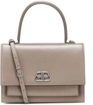 Balenciaga Sharp S leather tote