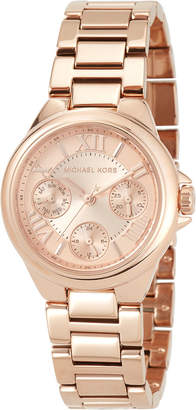 MICHAEL Michael Kors 33mm Mini Bailey Chronograph Bracelet Watch, Rose Golden