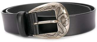 Just Cavalli snake embellished belt