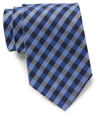 Tommy Hilfiger Classic Gingham Silk Tie