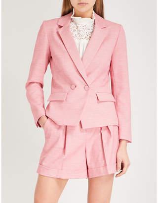 Claudie Pierlot Textured woven blazer