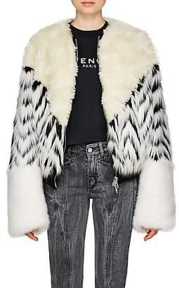 Givenchy Women's Faux-Fur Jacket - White