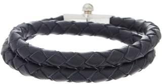 Miansai Rovos Double Wrap Leather Bracelet