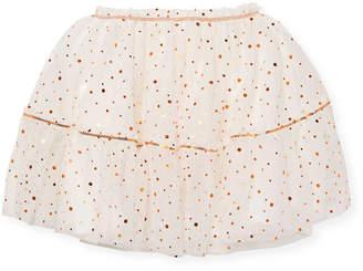 Billieblush & Polka Dot Skirt