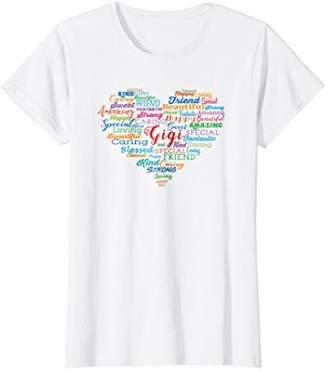 Womens Gigi Shirt Nana Mimi Birthday & Christmas Gift for Grandma