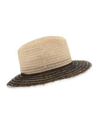 Inverni Indi Two-Tone Fedora Hat