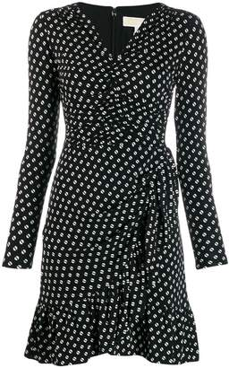 MICHAEL Michael Kors dotted print dress