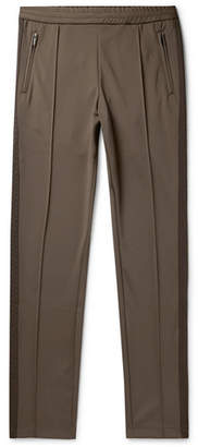 Bottega Veneta Slim-Fit Jacquard-Trimmed Tech-Jersey Sweatpants