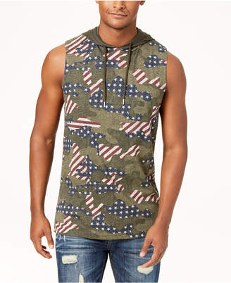 American Rag Men's Camo Hooded Tank, Created for Macy's