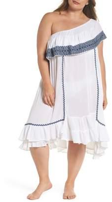 Muche et Muchette Gavin One-Shoulder Cover-Up Dress (Plus Size)