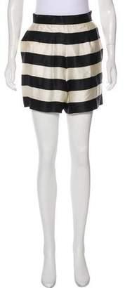 Gianfranco Ferre Silk Mini Shorts