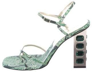 Dolce & Gabbana Embellished Multistrap Sandals