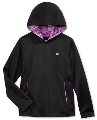Champion Girls' Fleece Pullover Hoodie $28 thestylecure.com