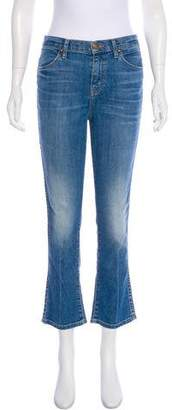 The Great Mid-Rise Cropped Jeans