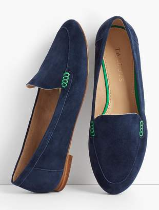 Talbots Ryan Loafers-Kid Suede