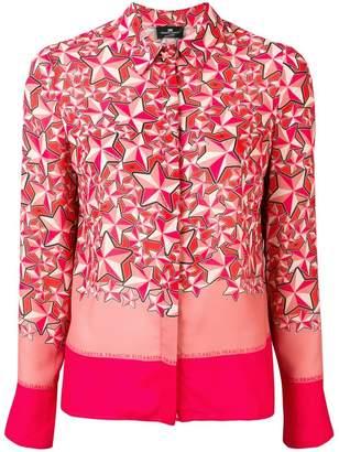 Elisabetta Franchi star-print shirt