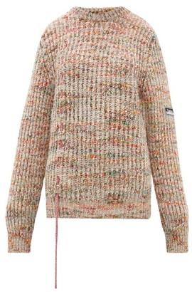Aries Drawstring Melange Sweater - Womens - Multi