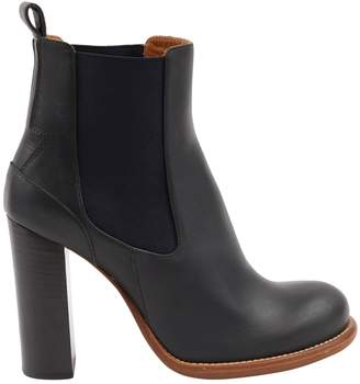 Chloé Navy Leather Boots