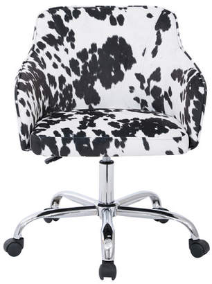 ... Ave Six Althea Low Back Desk Chair