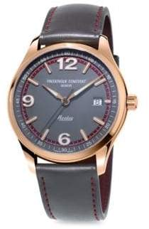 Frederique Constant Healey Stainless Steel Automatic Strap Watch