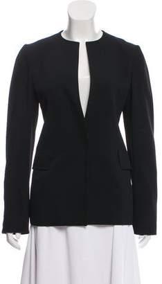 CNC Costume National Collarless Crepe Jacket