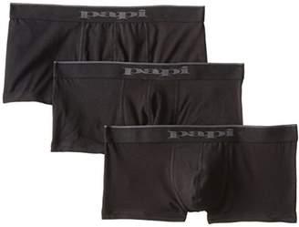 Papi Men's 3-Pack Brazilian Solid Trunk