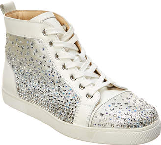 269bc4249d8 Christian Louboutin Galaxtidonna Embellished Leather Sneaker
